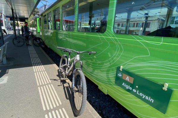 Les petits trains Suisses